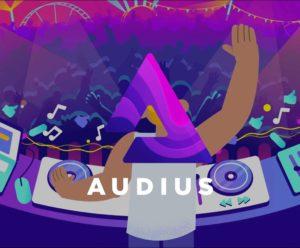 """Webitcoin: Plataforma blockchain focada em música, Audius, dá novos detalhes sobre seus """"tokens gêmeos"""""""