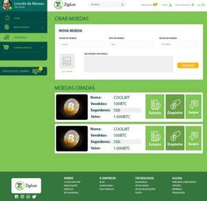 Webitcoin: Zigilua: projeto brasileiro transforma você em um token