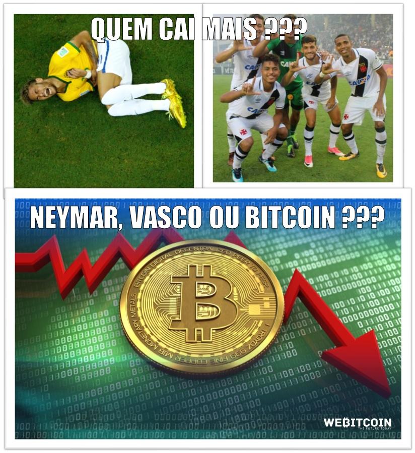 Meme Bitcoin - quem cai mais