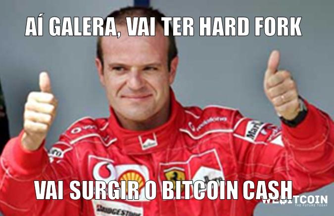 meme bitcoin rubinho hard fork