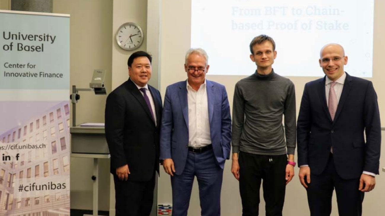 Webitcoin: Vitalik Buterin recebe doutorado honorário da Universidade da Basileia