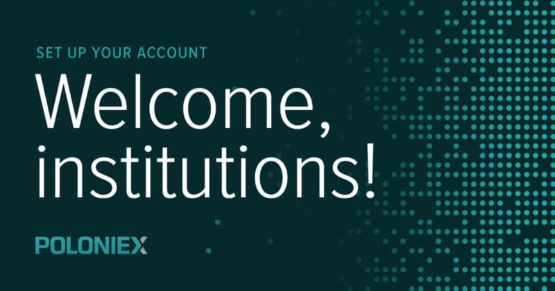 Webitcoin: Poloniex disponibiliza contas institucionais em sua plataforma de troca