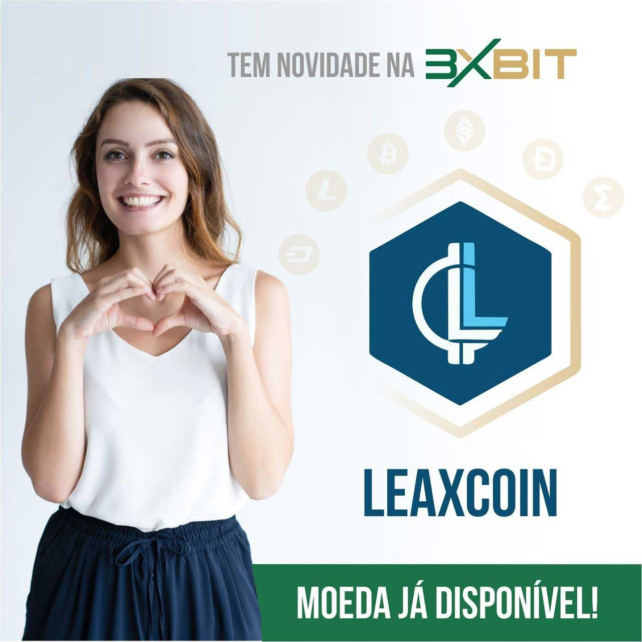 Webitcoin: 3xBit acrescenta Leaxcoin em sua plataforma!