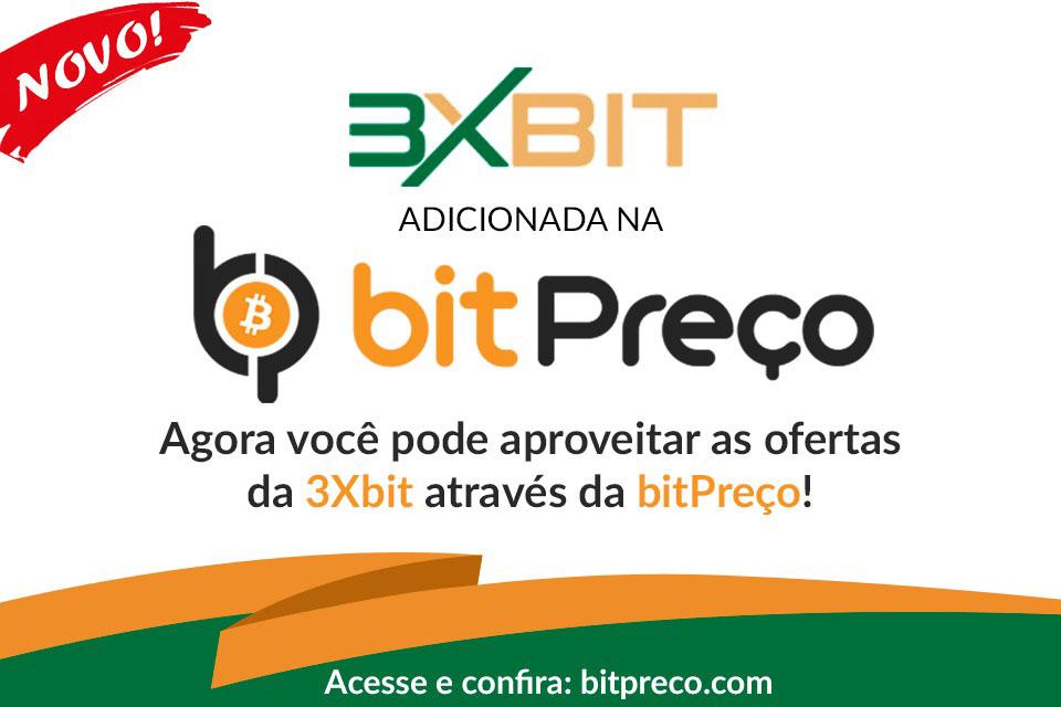Webitcoin: BitPreço e 3xBit firmam parceria!