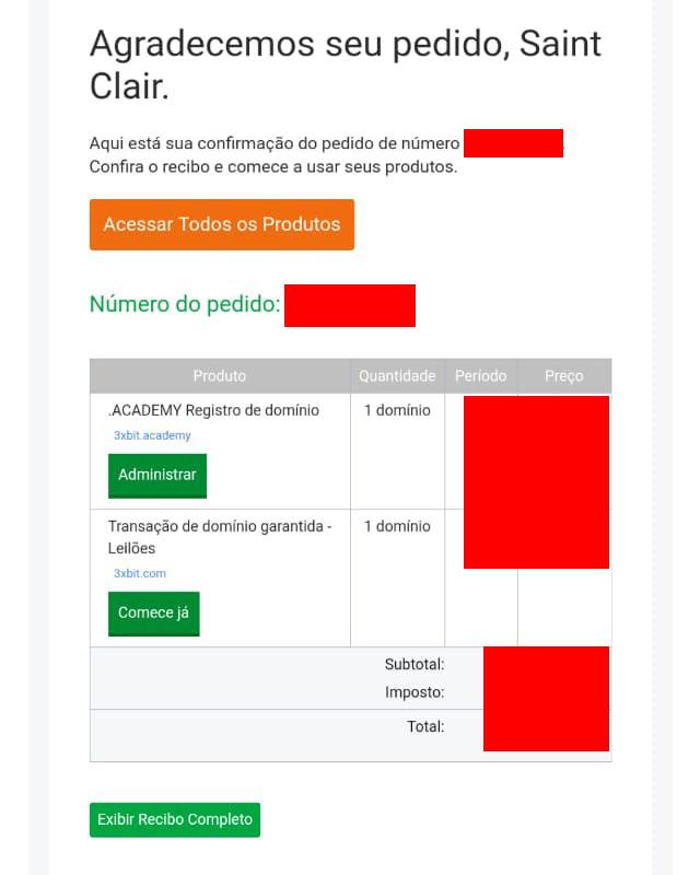 """Webitcoin: 3xBit adquire domínio """".com"""": uma história para nos lembrar sobre phishing"""