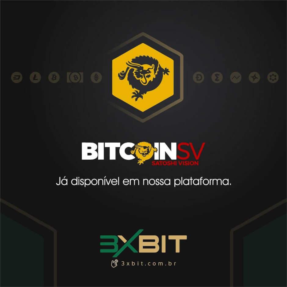 Webitcoin: 3xbit acrescenta Bitcoin SV à sua plataforma de troca