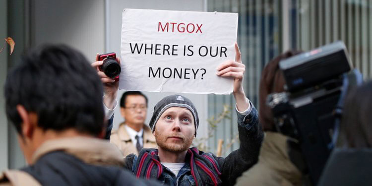 Webitcoin: US$312 milhões em criptos da Mt. Gox foram possivelmente vendidas por meio de uma exchange
