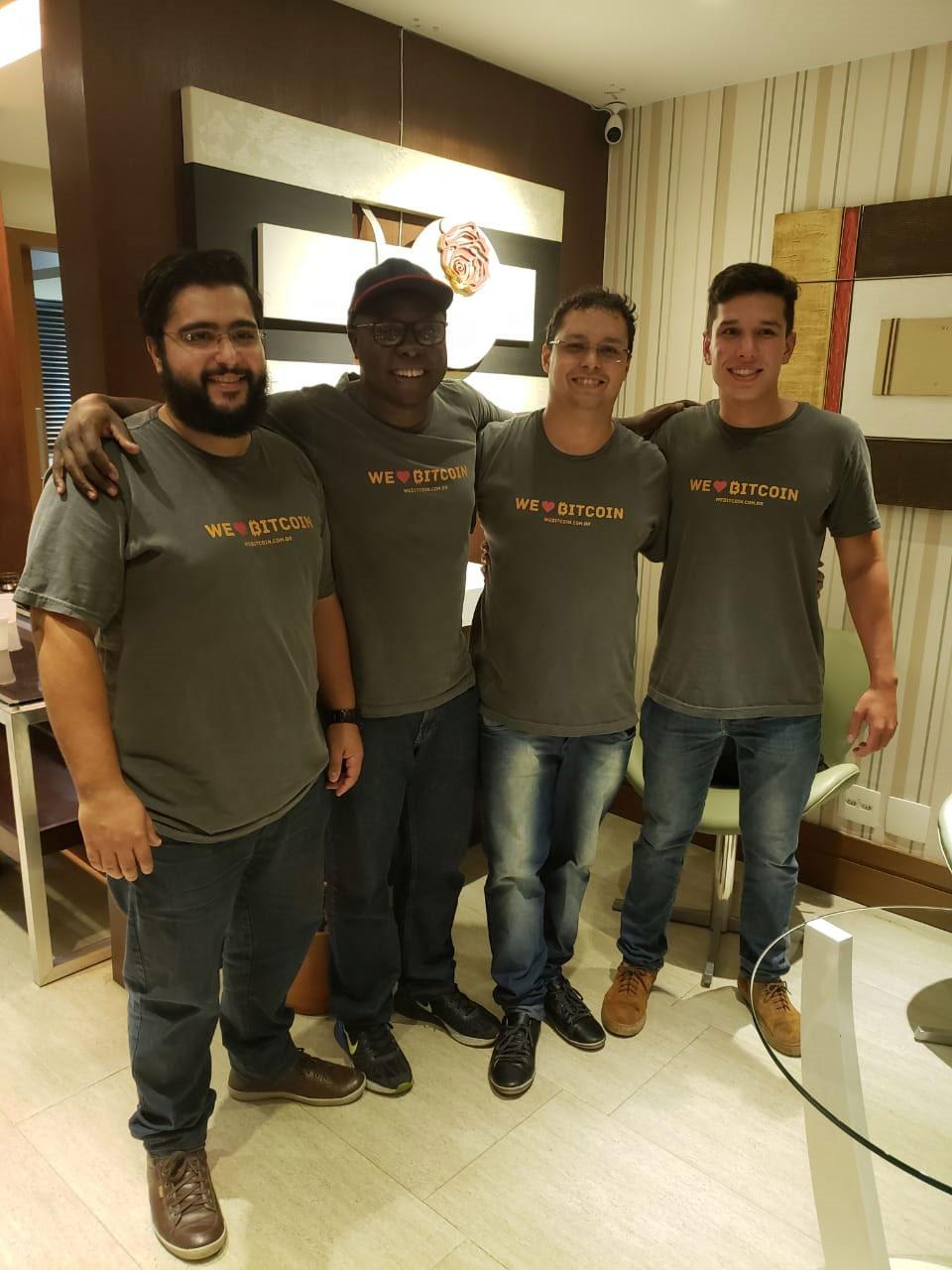 Webitcoin: Webitcoin realizou curso de trading em criptomoedas no último fim de semana!