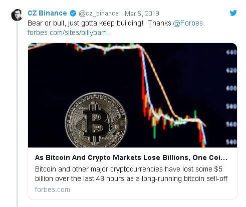 """Webitcoin: CEO da Tron: """"Binance Coin é o novo Bitcoin"""""""