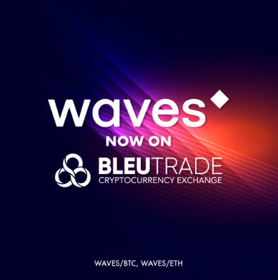 WeBitcoin: Exchange Bleutrade adiciona Waves para negociações e lança campanha comemorativa
