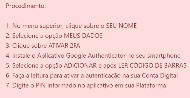 WeBitcoin: Novidade: Global Card inclui autenticação de dois fatores em sua plataforma
