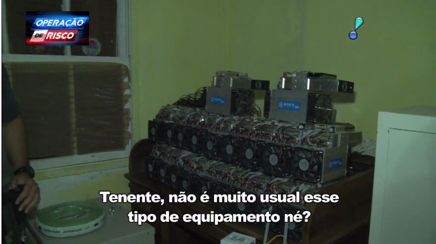 """Webitcoin: Polícia Militar de São Paulo desmantela """"mineradora de Bitcoin"""" do PCC"""
