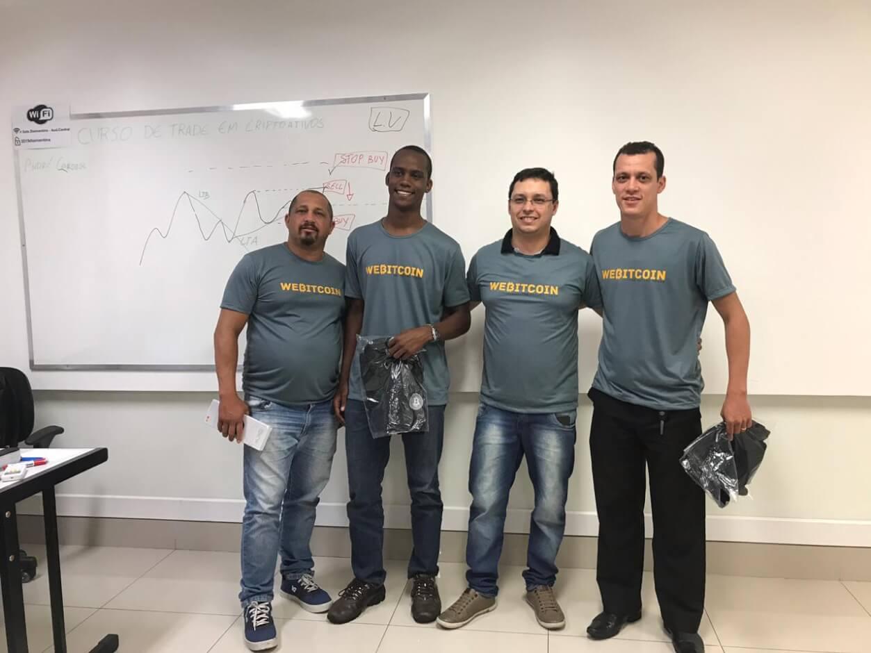 WeBitcoin: Com nova turma em Belo Horizonte, WeBitcoin realiza 6ª edição do curso de trade